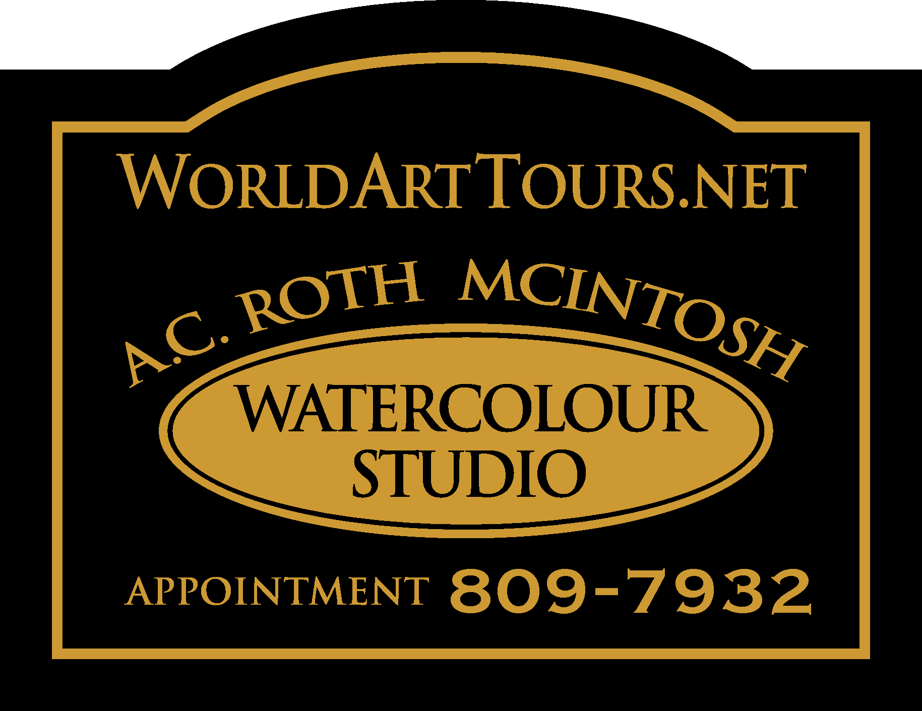WorldArtTours.net sign