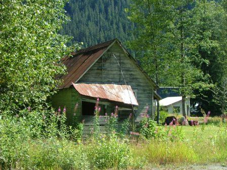 Old House in Stewart BC