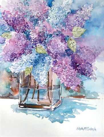 Spring Lilacs by McIntosh