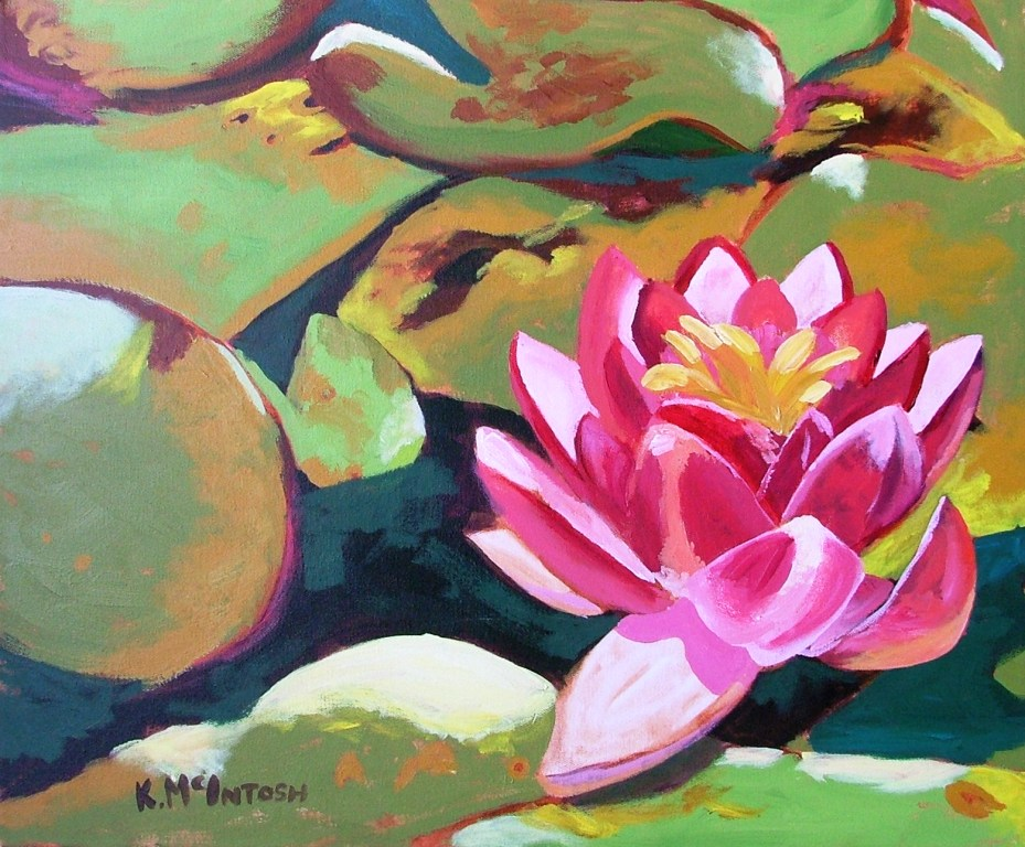 Lotus Blossom by Kelsey McIntosh