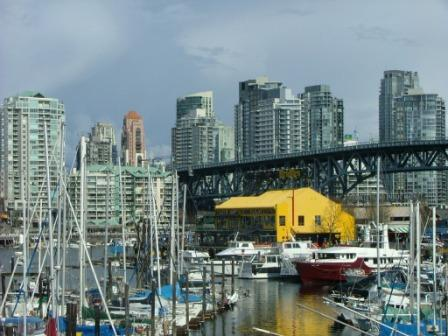 Harbour at Granville Island Vancouver