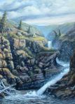 Canyon painting by Murray Roed